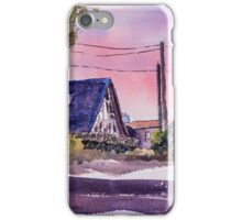 Whidbey Getaway - Watercolor Impressionistic Painting iPhone Case/Skin