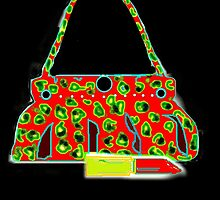BAG/LIPPY RED/GREEN COLLECTION by Shoshonan