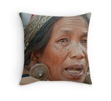 Wa Lady 2 Throw Pillow
