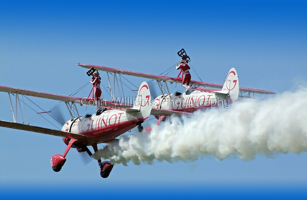 """""""Guinot"""" Wing Walkers by Colin  Williams Photography"""