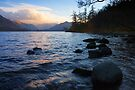 Ullswater Sunset by David Lewins