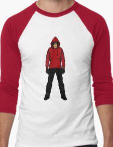 Hoodie Chimp Men's Baseball ¾ T-Shirt
