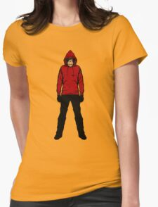 Hoodie Chimp Womens Fitted T-Shirt