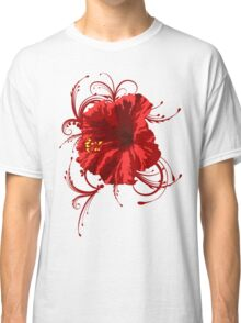The red Flower Classic T-Shirt