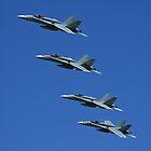 "F/A-18A Hornet - ""Purple Cobras"" by Daniel McIntosh"