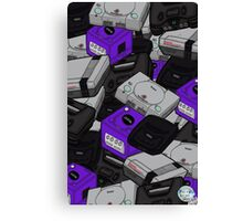 Videogame Console Pattern Canvas Print