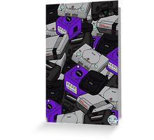 Videogame Console Pattern Greeting Card