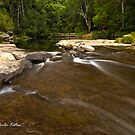 The Weir, Kangaroo Valley, NSW by Malcolm Katon