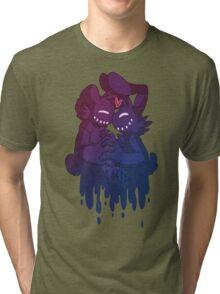 Shadow Bonnie&Shadow Freddy Tri-blend T-Shirt