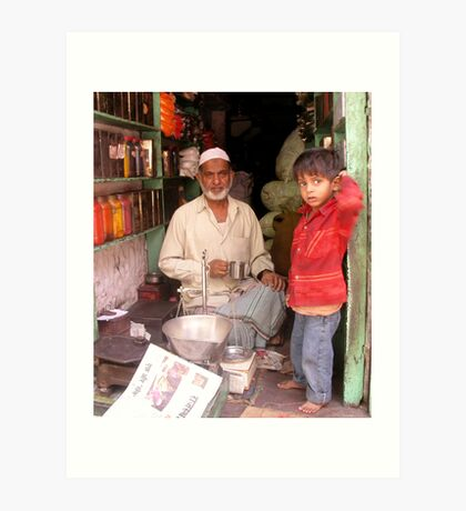 Spice Shop, Jodhpur, Rajastan, India Art Print