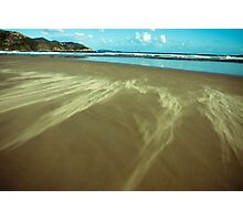 sand clouds Photographic Print