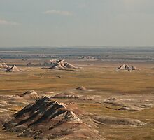 Badlands South Dakota  by Rob Schoon
