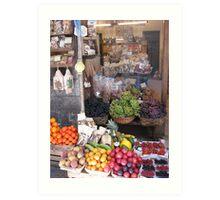 Frutteria, Italia! Art Print
