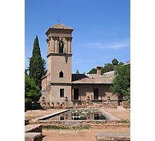 Palace within the Alhambra, Granada, Spain Photographic Print