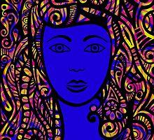 Blue Belle by MelDavies