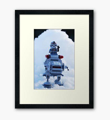 Battle Of Hoth Framed Print