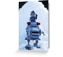 Battle Of Hoth Greeting Card