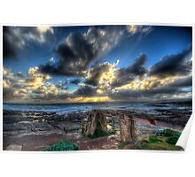 Sunset - Cape Leeuwin, W.A Poster