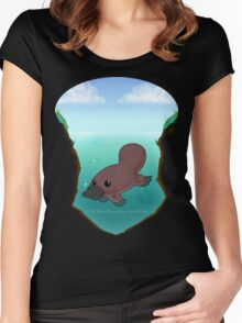 Ornithorhynchus anatinus Women's Fitted Scoop T-Shirt