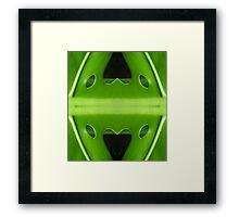 Natural Love Framed Print