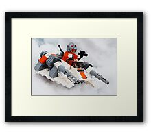 The Battle For Hoth Framed Print