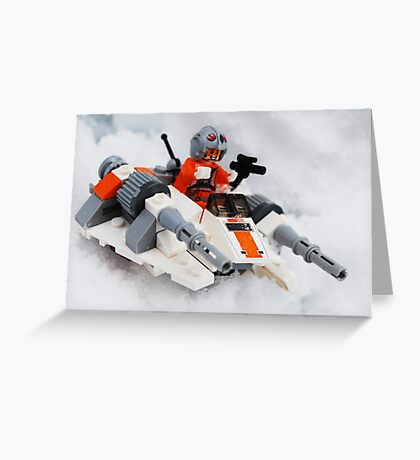 The Battle For Hoth Greeting Card