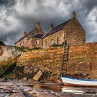 The Harbour Cottages by Gary Moffat