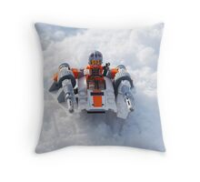 The Battle For Hoth Throw Pillow