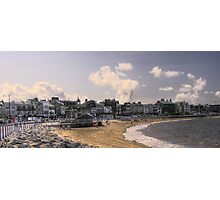 Morecambe Seafront Photographic Print