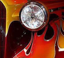 Spotlight on Flame by starlitewonder