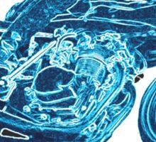 MOTORCYCLE ADDICT Sticker