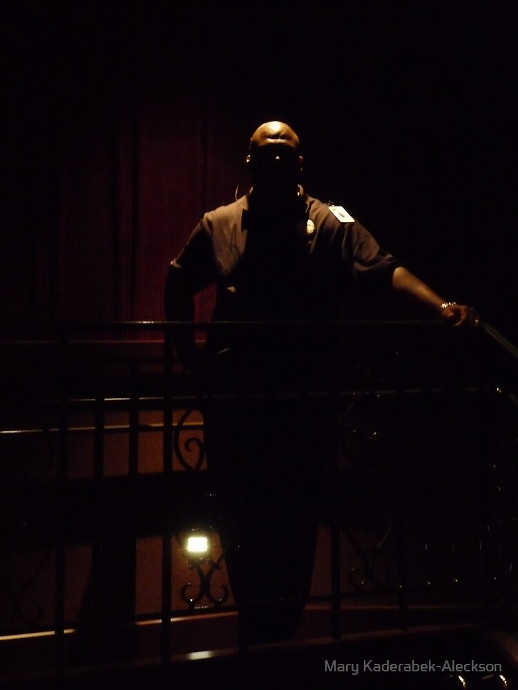 Security Guard by Mary Kaderabek-Aleckson
