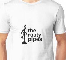 Rusty Pipes B&W Logo Unisex T-Shirt