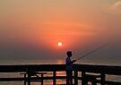 Fishing At Dawn by ©Dawne M. Dunton