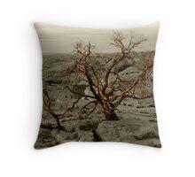 Tree selected Kings Canyon Throw Pillow