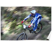 2009 NSWMTB State Down Hill Championships - Lithgow Poster