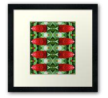 Tiki Soldiers Framed Print
