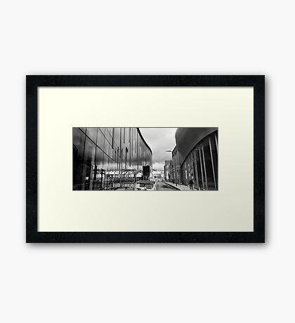 Reflection on Half Moon Street Framed Print