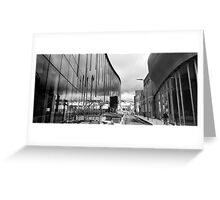 Reflection on Half Moon Street Greeting Card