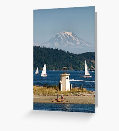 Puget Sound Playground Greeting Card