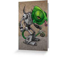 Chameleozoid Greeting Card