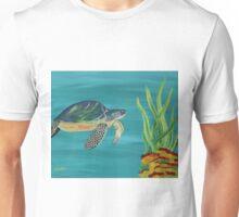 The turtle - Underwater series 1 Unisex T-Shirt