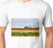 Black Price Steam Train Norfolk Railway Unisex T-Shirt