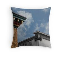 Buildings in the Sky Throw Pillow