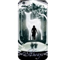 Snape Memories Black iPhone Case/Skin