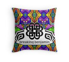Breaking Benjamin - Trippy Pattern Throw Pillow