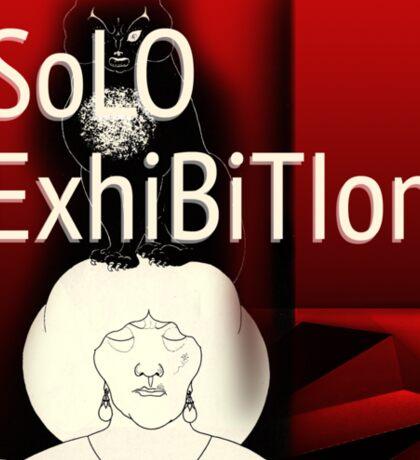 Solo-Exhibition avatar Sticker