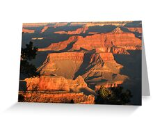 Sunrise over the Grand Canyon Greeting Card
