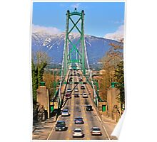 Lions Gate Bridge Poster