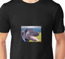 Canine Version of 'The Scream' Unisex T-Shirt